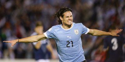 Edison Cavani es uno de los máximos referentes uruguayos. Foto:Getty Images