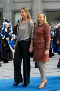 Es una de las dos hermanas del Rey Felipe de España Foto:Getty Images
