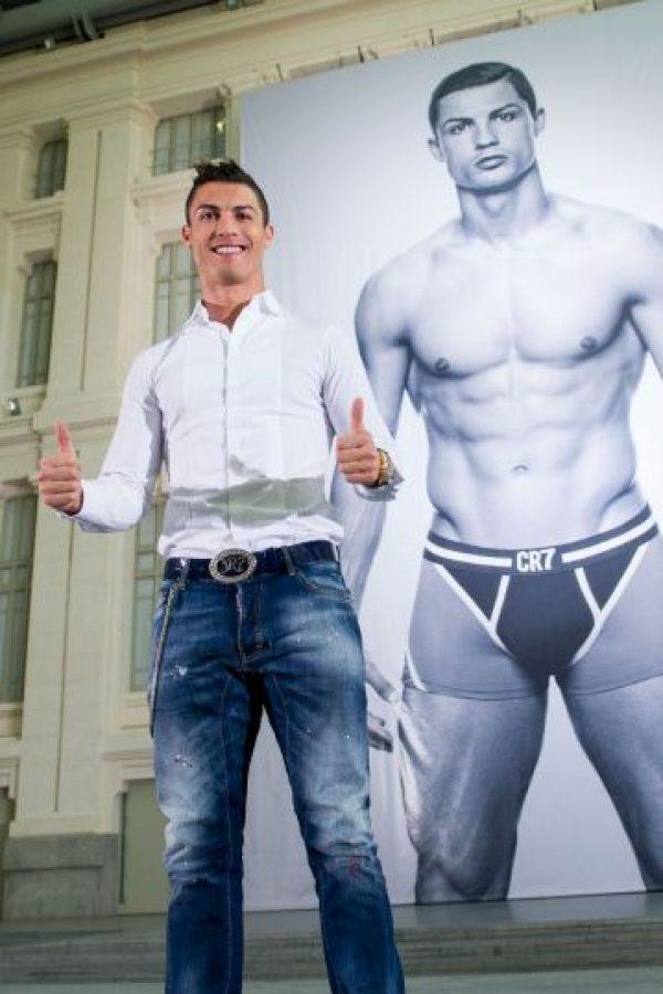 Para el portugués no es una novedad el mundo de la moda. Foto:Getty Images