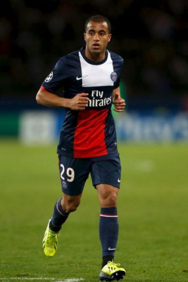 18. Lucas Moura – 40 millones de euros (2013). Foto:Getty Images