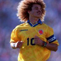 5. Carlos Valderrama (Colombia) Foto:Getty Images