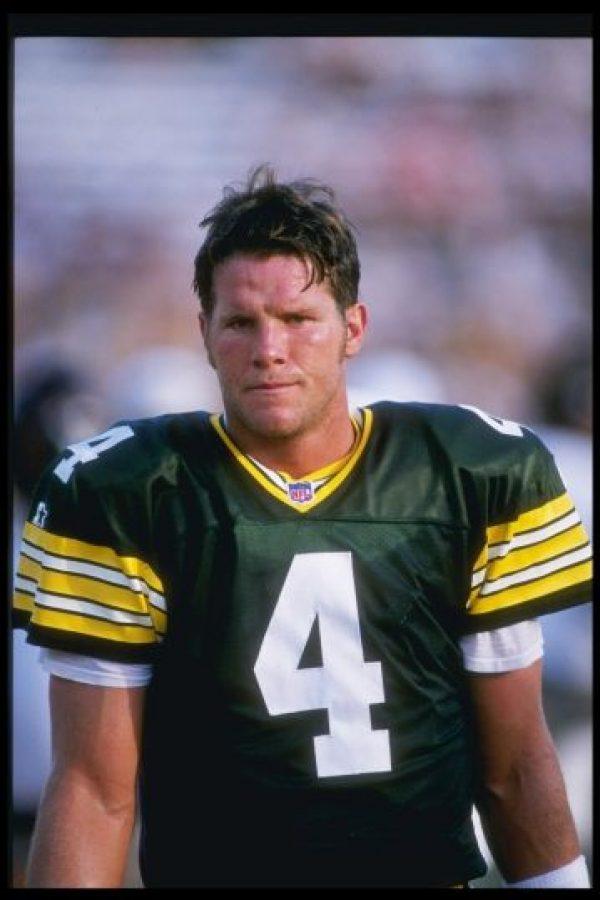 6. Brett Favre (Fútbol americano) Foto:Getty Images