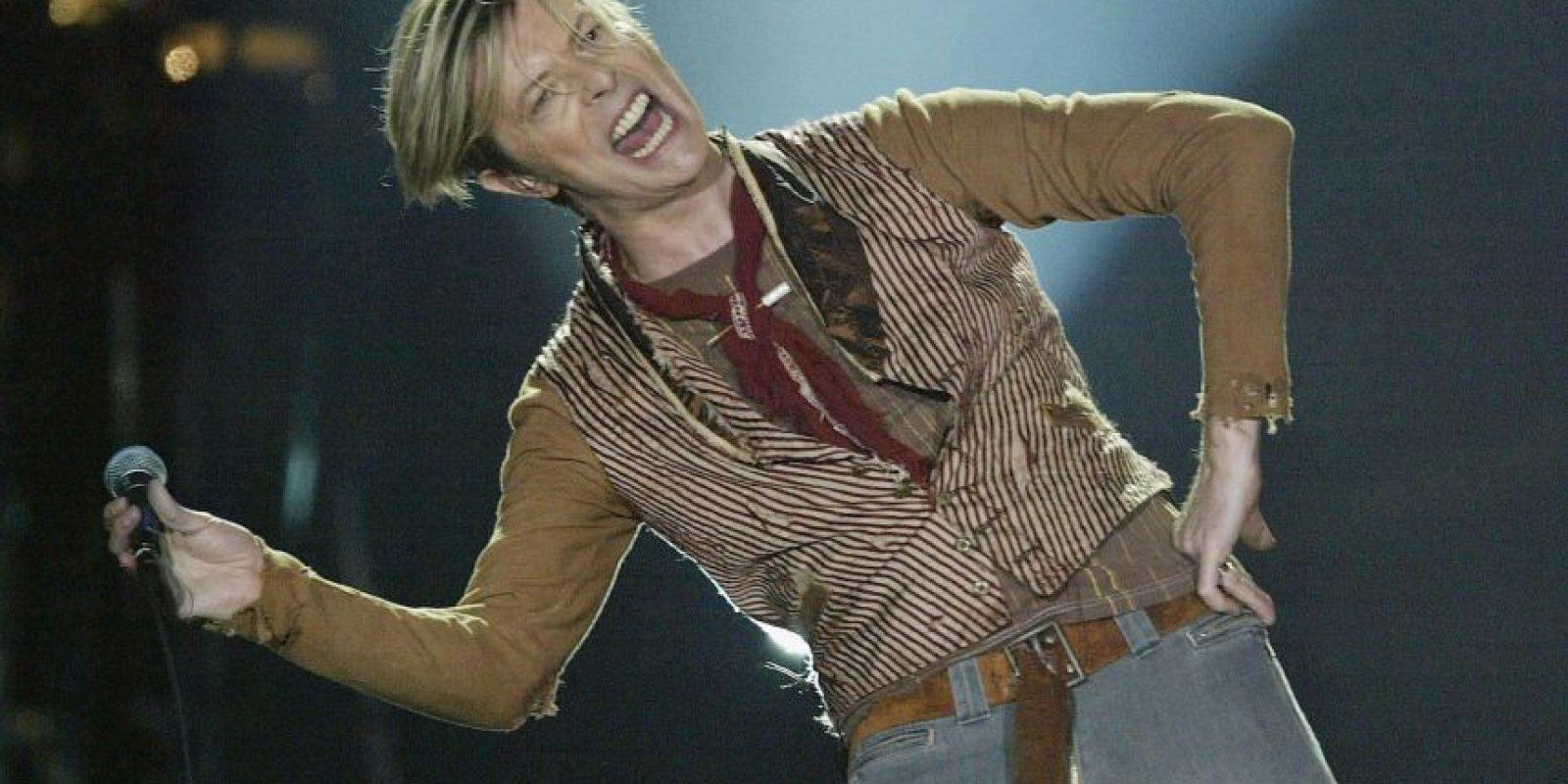 El músico y compositor siempre se ha caracterizado por su apariencia andrógina desde los años 70 Foto:Getty Images