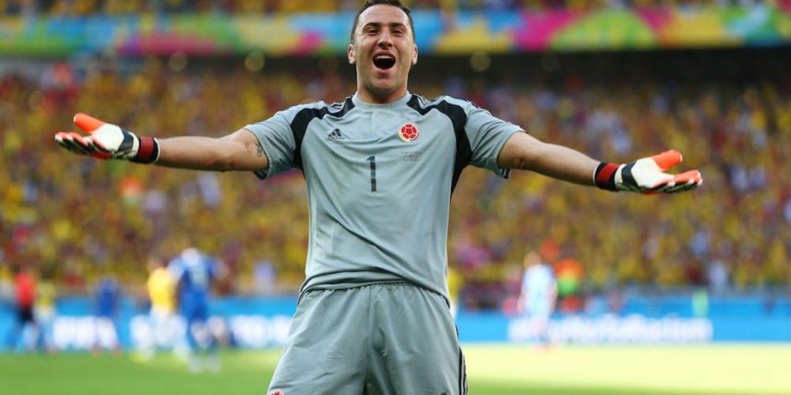 David Ospina se consolidó como titular en el Arsenal inglés. Foto:Getty Images
