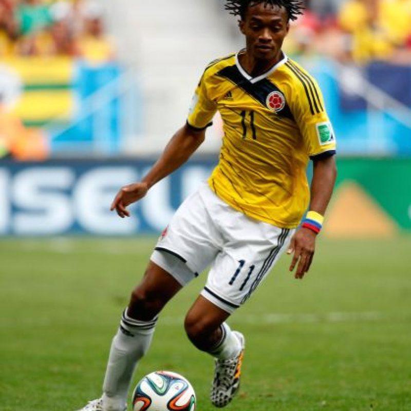 Juan Cuadrado también llegó al fútbol inglés con el Chelsea. Foto:Getty Images