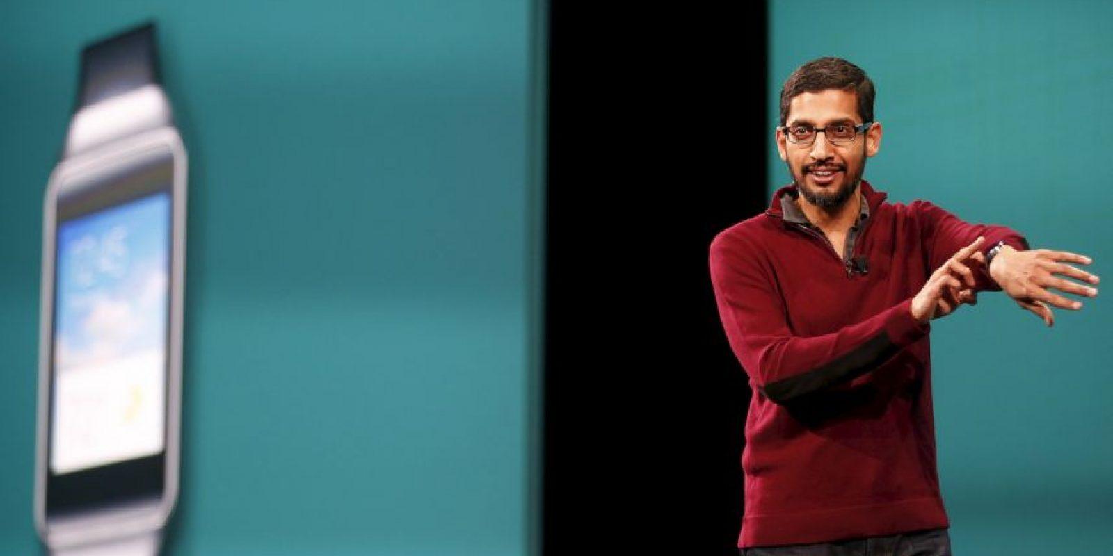 """En 2014, la web enfocada a los negocios """"Bloomberg"""", hizo un extenso perfil de Sundar Pichai y en él nos reveleban algunos de los datos de su origen y su infancia. Foto:Getty Images"""