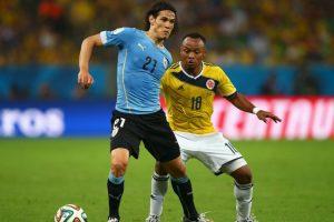 """""""Jamaica será complicado como todos los equipos africanos"""", indicó el delantero uruguayo. Foto:Getty Images"""