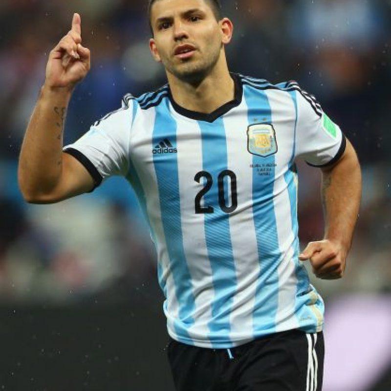 """Sergio """"Kun"""" Agüero desea ser una arma mortal en el ataque. Foto:Getty Images"""