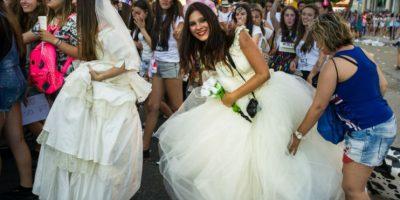 Aunque los matrimonios de jóvenes en España son escasos. Foto:Getty Images
