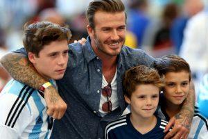 Tras retirarse del fútbol, David Beckham se dedica a sus negocios y a su familia. Foto:Getty Images