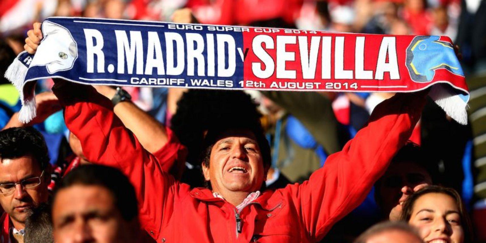 2. Esta será la tercera Supercopa de la UEFA disputada entre equipos españoles, tras 2006 y 2014. En todas ellas ha estado el Sevilla y sus rivales han sido Barcelona (2006 y 2015) y Real Madrid (2014). Foto:Getty Images