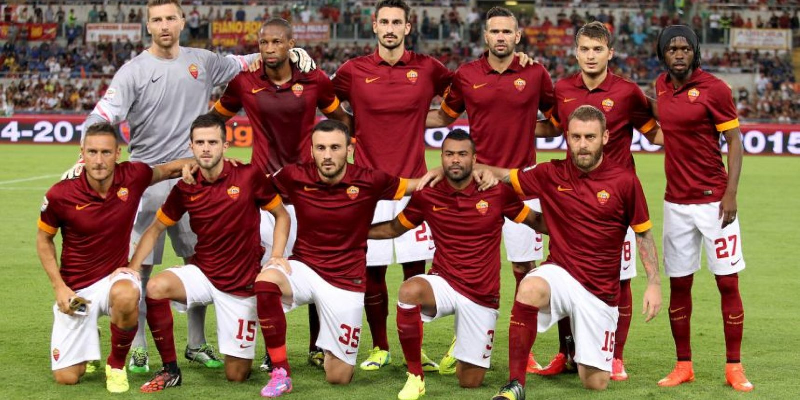AS Roma (Subcampeón en 2014/2015) Foto: Getty Images