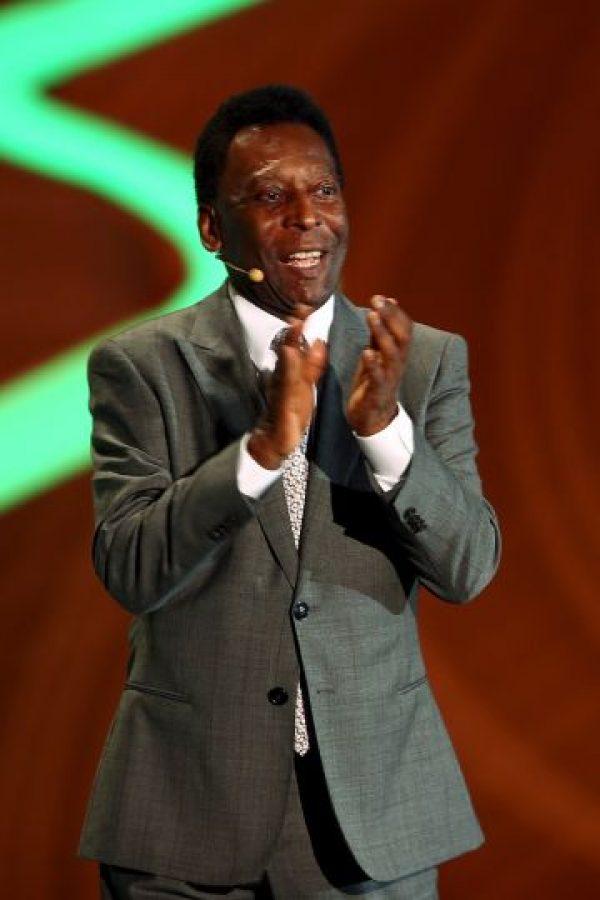 Ganó tres Copas del Mundo con la Selección de Brasil (1958, 1962 y 1970). Foto:Getty Images