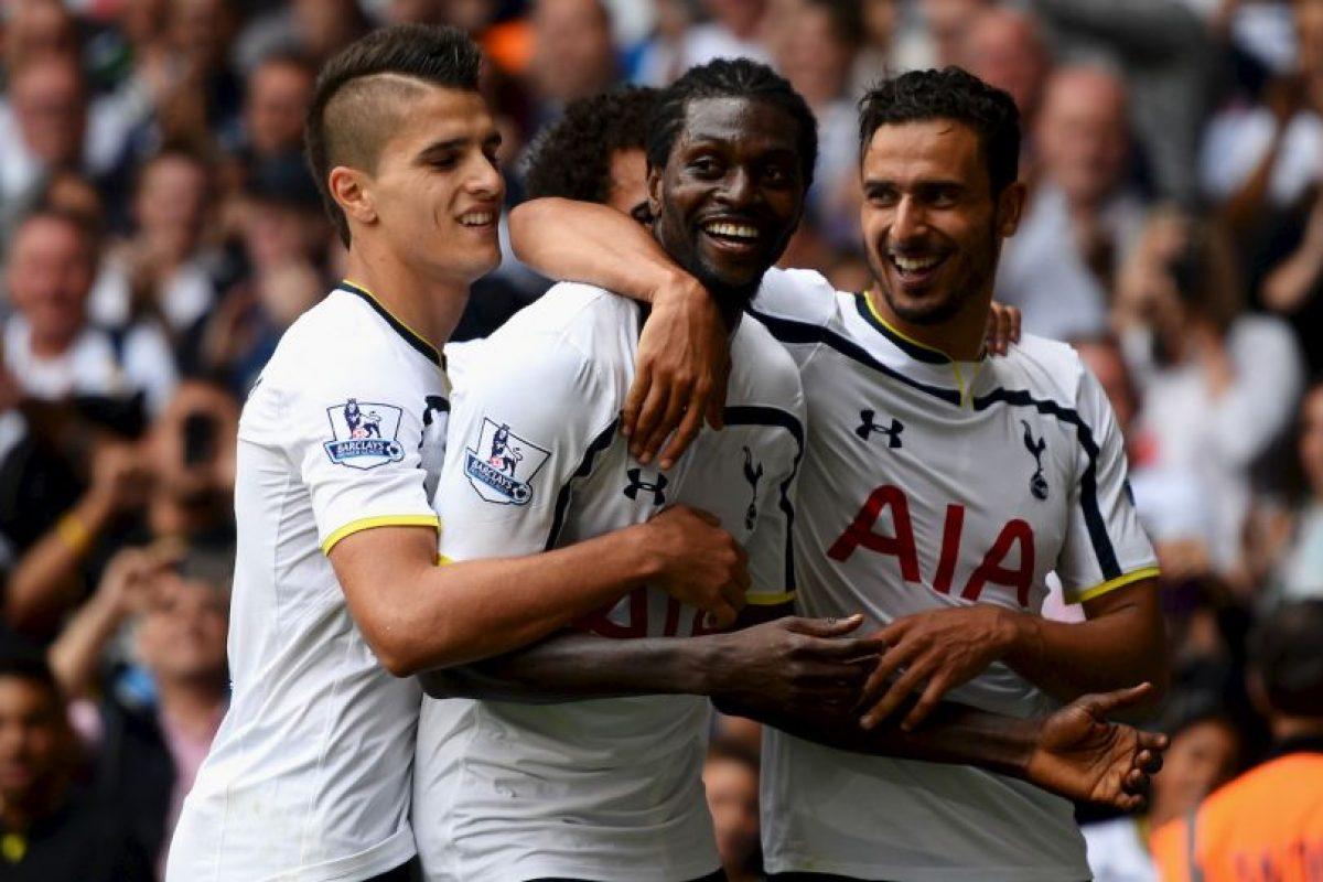 Equipo más joven: Tottenham (24.9 años) Foto:Getty Images