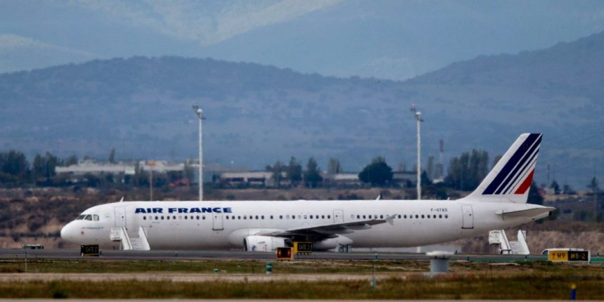 Vuelo de Air France estuvo apunto de impactar a un volcán