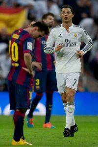 Por ser ambos estrellas de los dos mayores rivales en el fútbol, su rivalidad también ha crecido. Foto:Getty Images