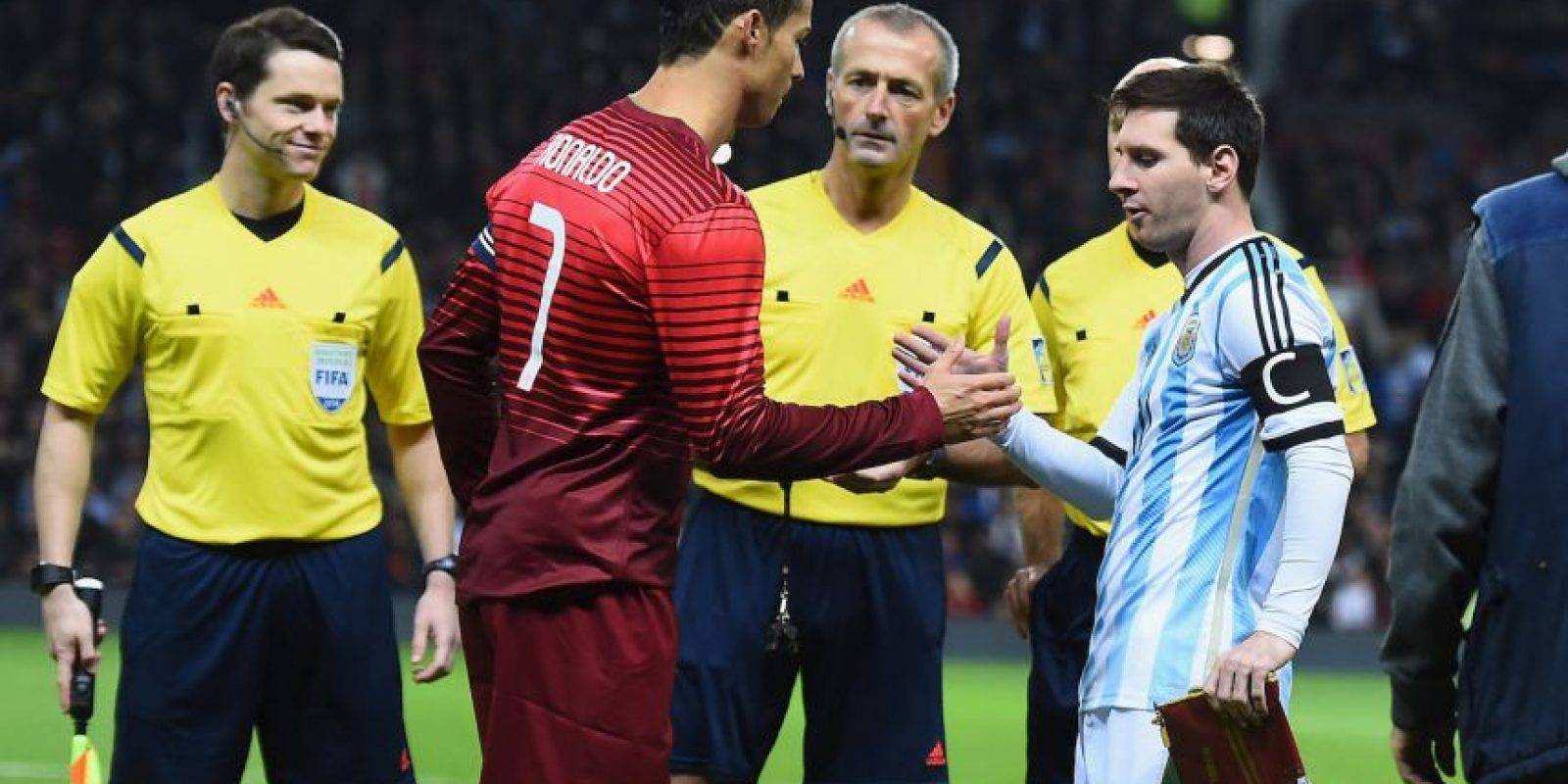 Pero de 2009 a 2012, todos los Balón de Oro fueron para Lionel Messi. Foto:Getty Images