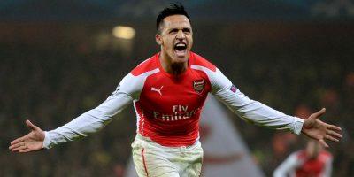 Alexis Sánchez va por otro año en gran forma y apunta a ser figura del Arsenal. Foto:Getty Images