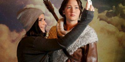 "El personaje ""Katniss Everdeen"" Foto:Getty Images"