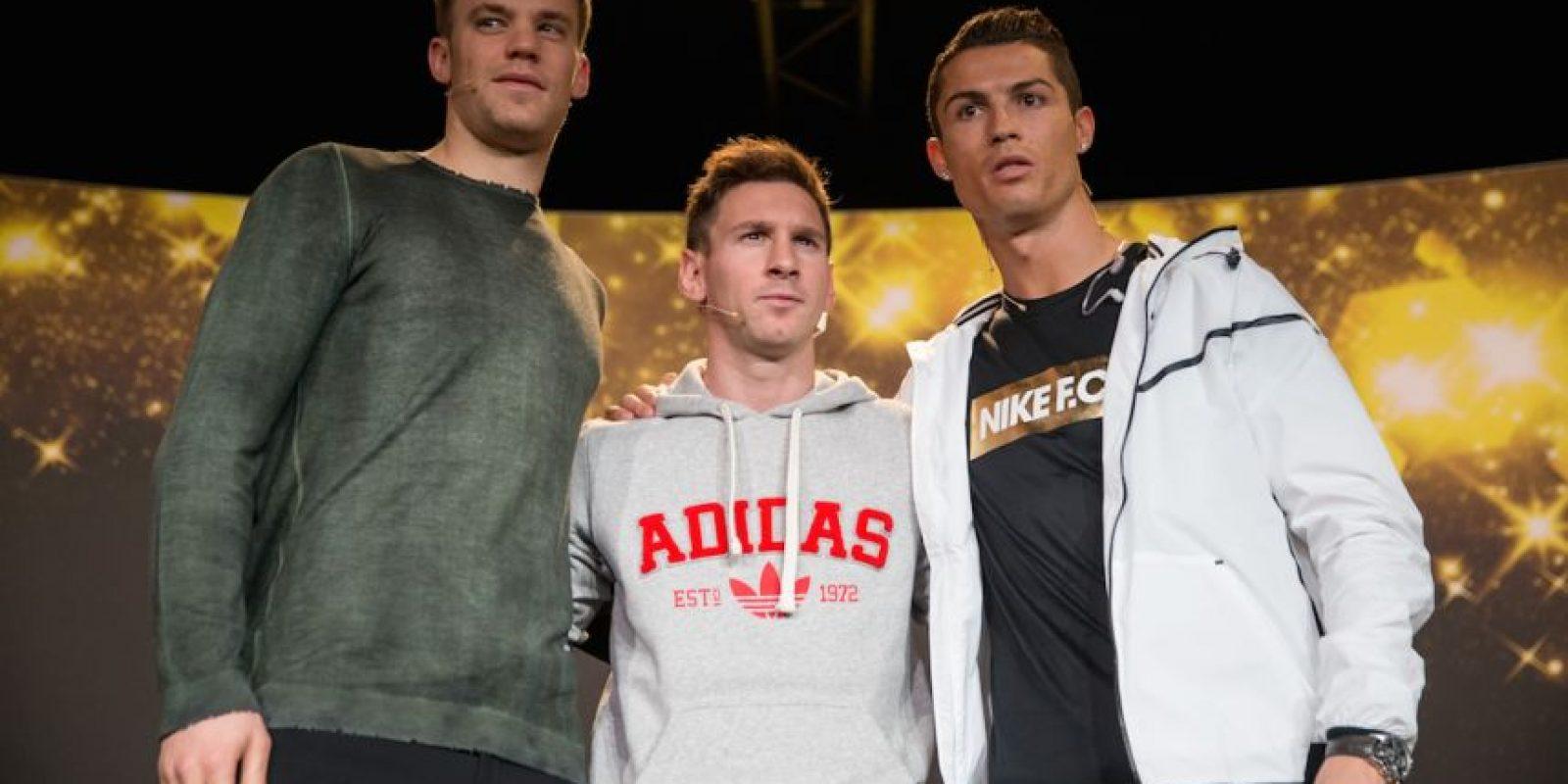 Ambos futbolistas comenzaron a destacar a mediados de la primera década del Siglo XXI. Foto:Getty Images