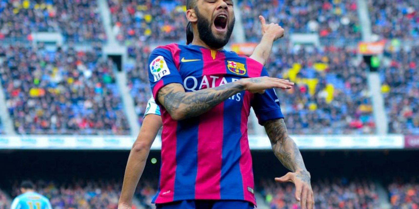 Todo parecía indicar que dejaría el Barcelona tras la campaña pasada, pero consiguió la renovación y se mantendrá como uno de los baluartes del equipo por la banda derecha, en donde tiene una perfecta sociedad con Lionel Messi. Foto:Getty Images
