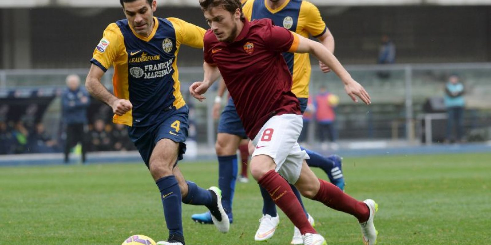 Hellas Verona vs. AS Roma / 18:00 horas de Italia / Estadio Marcantonio Bentegodi Foto: Getty Images