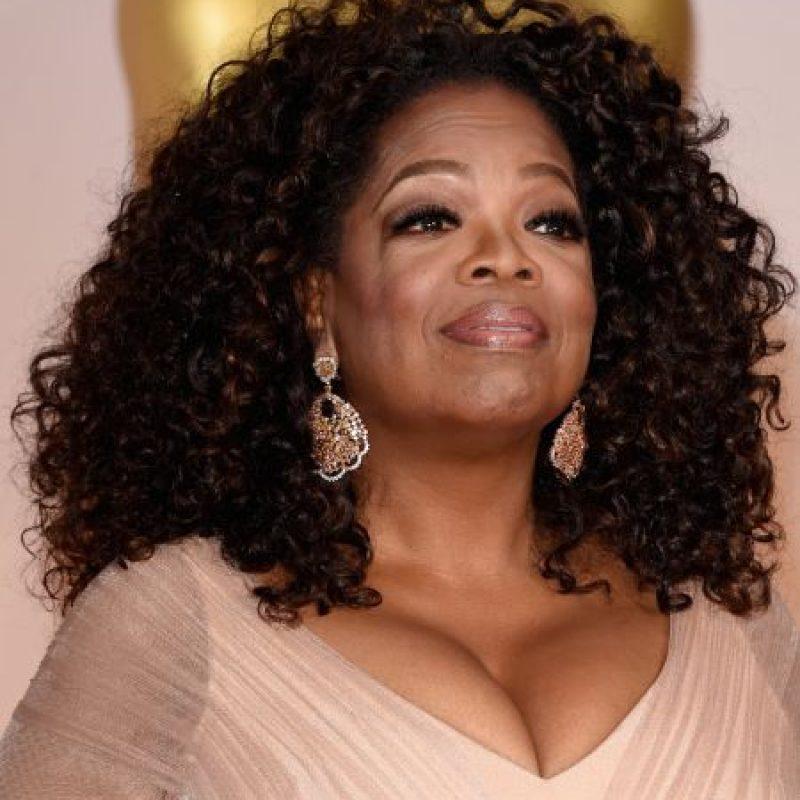 Presentadora de televisión, productora, actriz, empresaria y filántropa estadounidense. Foto:Getty Images