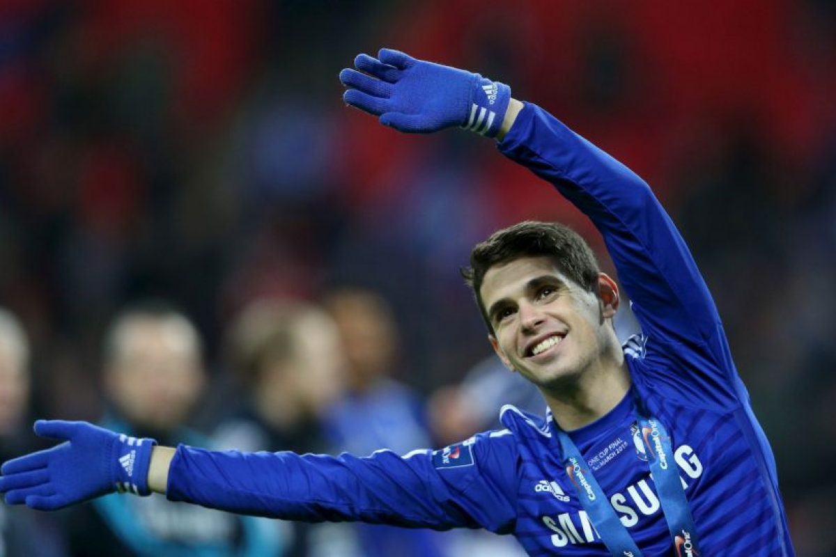 Oscar (Chelsea/Brasil) Foto:Getty Images