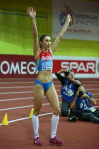 La rusa se desempeña en el triple salto Foto:Getty Images