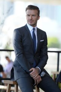 7. David Beckham Foto: Getty Images