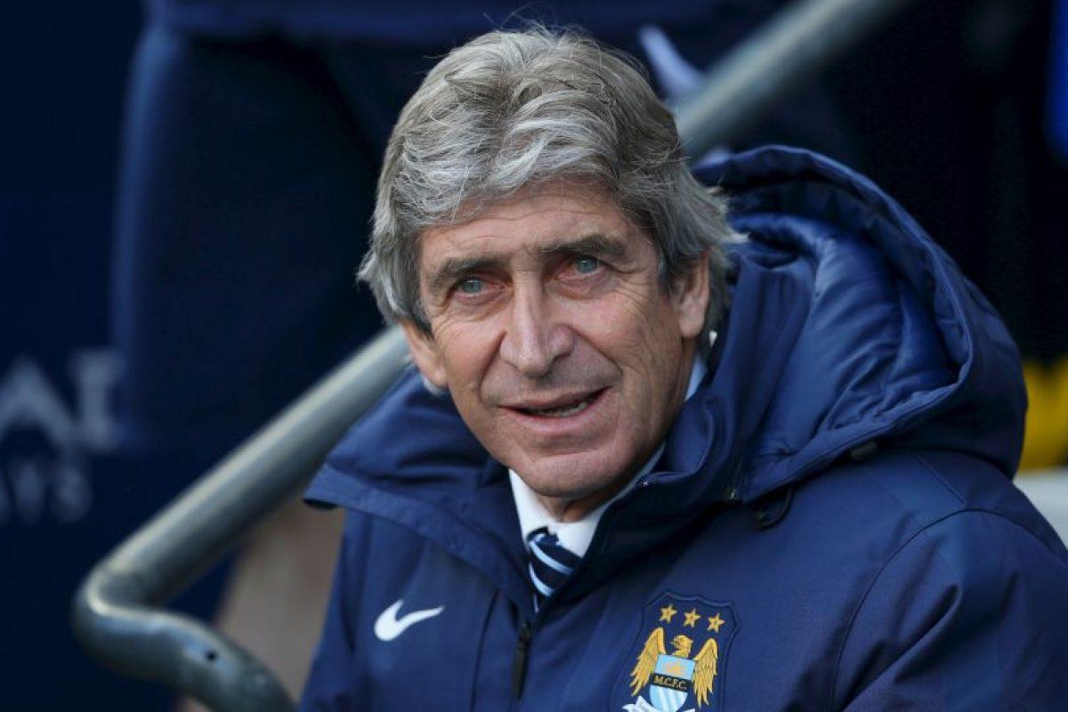 DT: Manuel Pellegrini (Manchester City/Chile) Foto:Getty Images