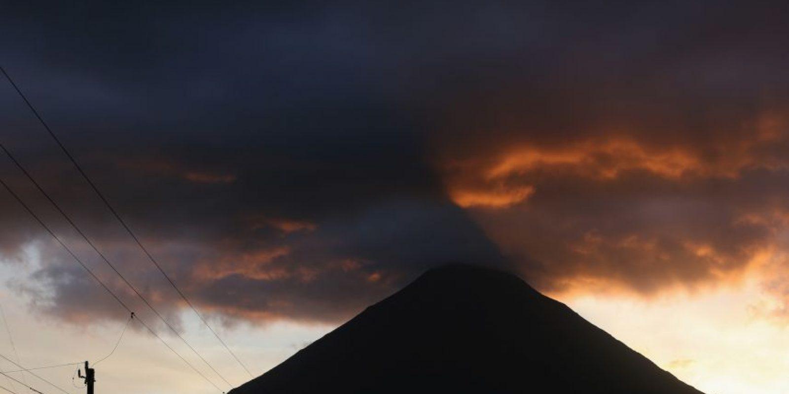 El volcán se encuentra en Monte Camerún Foto:Getty Images