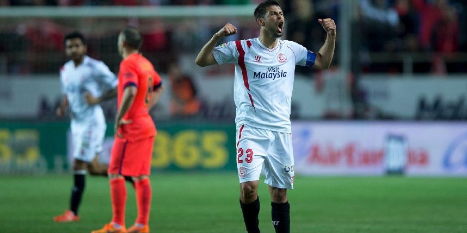 8. Los últimos partidos entre Barcelona y Sevilla fueron por la Liga de España y terminaron con marcadores de 5-1 en el Camp Nou y 2-2 en el Ramón Sánchez-Pizjuán. Foto:Getty Images