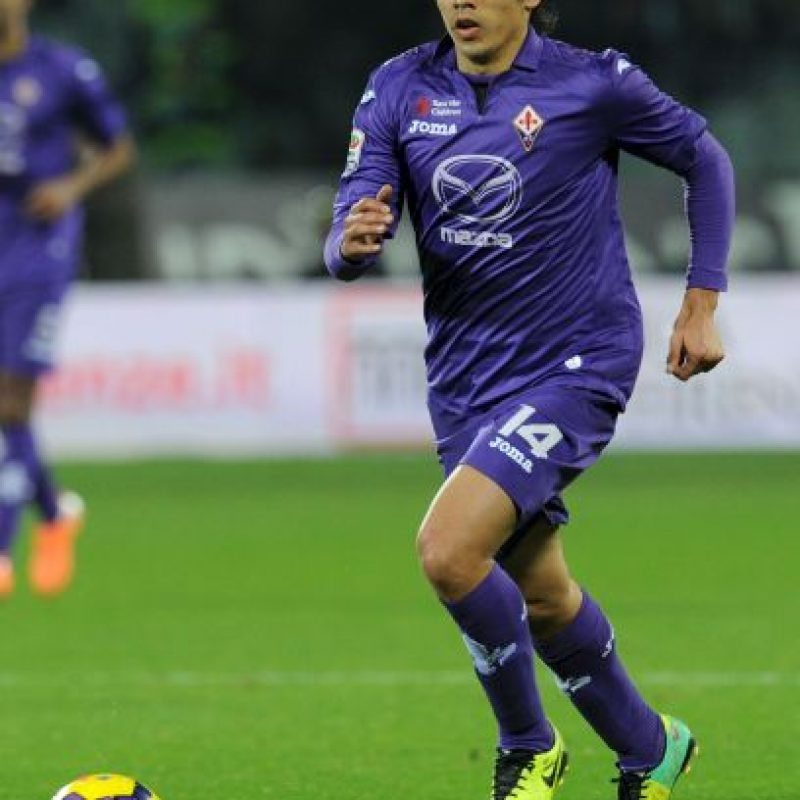 MEDIOS: Matías Fernández (Fiorentina/Chile) Foto:Getty Images
