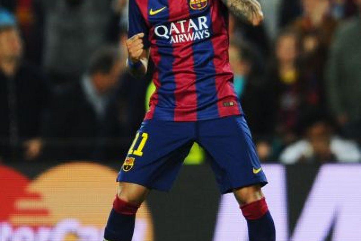 El crack brasileño tuvo una campaña de ensueño junto con sus compañeros en el Barça, Lionel Messi y Luis Suárez, ahora deberá demostrar si es cierto que puede estar al nivel de Messi y Cristiano Ronaldo. Foto:Getty Images