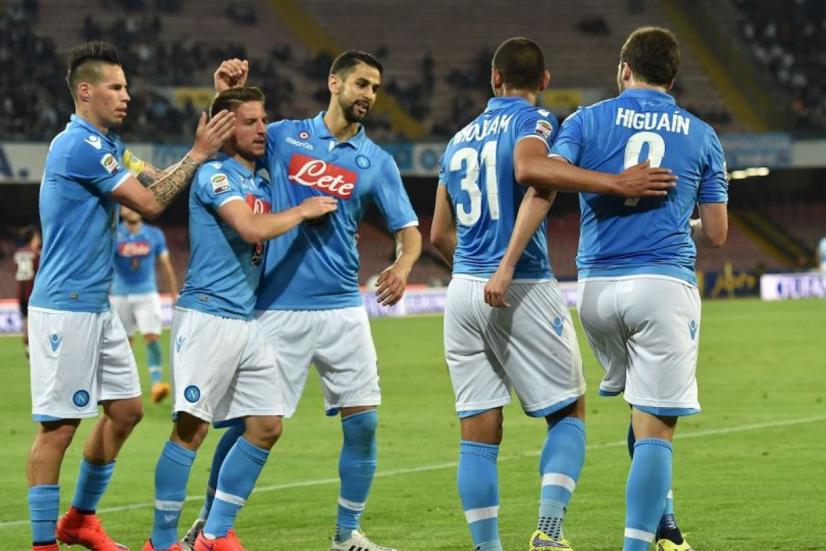 Napoli (5º en 2014/2015) Foto: Getty Images