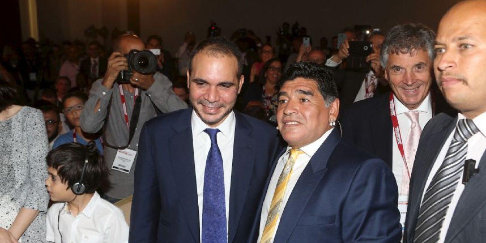 Indicó el Príncipe Ali Bin Al Hussein, candidato a la presidencia de la FIFA Foto:Getty Images