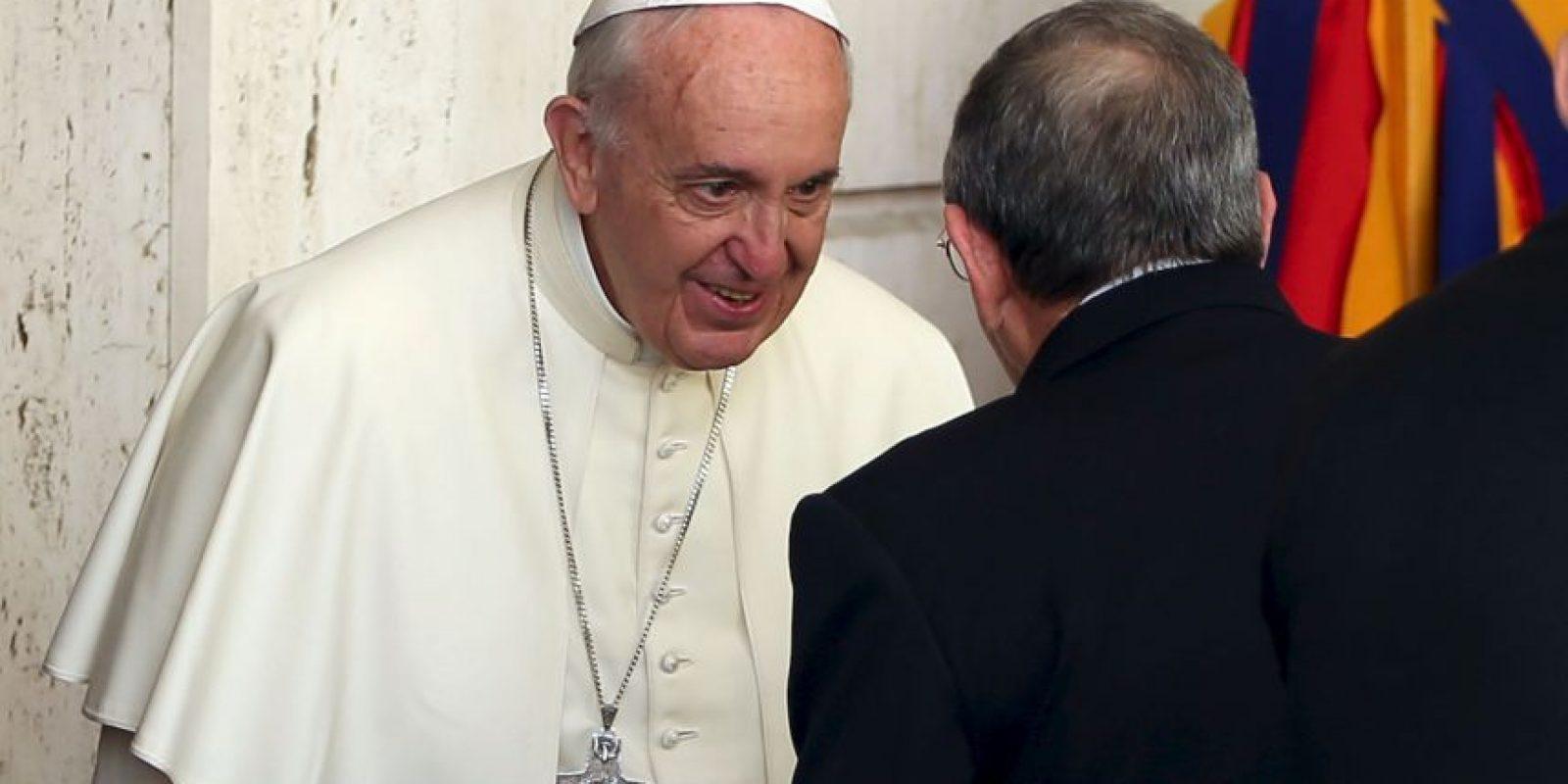 El Papa Francisco tuvo parte en esa negociación. Foto:Getty Images