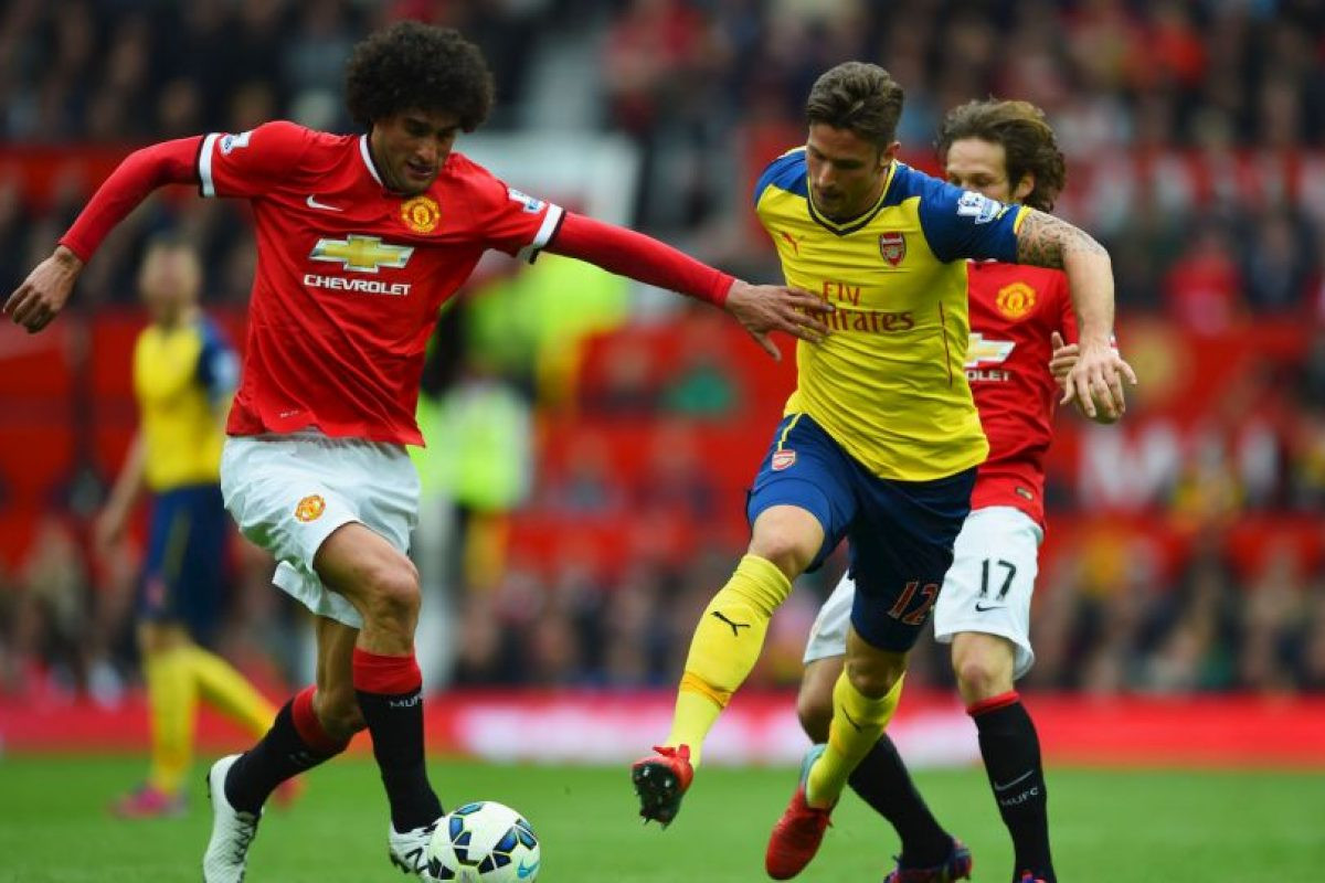 Se trata del belga Marouane Fellaini Foto: Getty Images