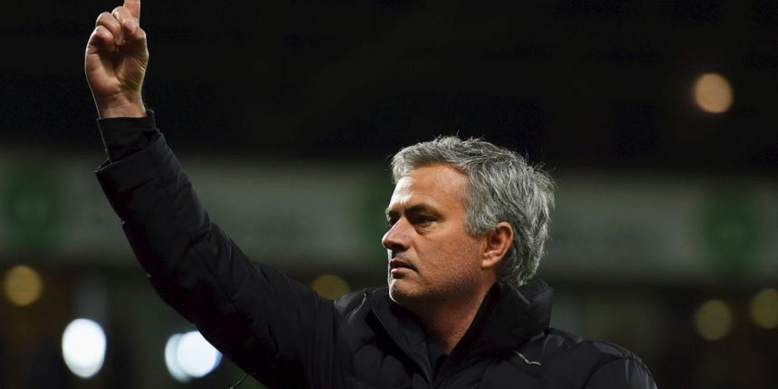 De ahí pasó al FC Porto donde se dio a conocer como entrenador al ganar la Champions League en 2004. Foto:Getty Images