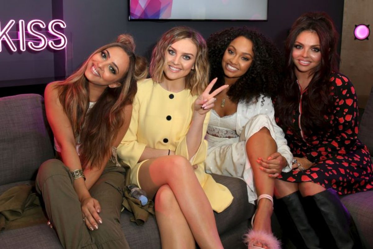 Little Mix está formado por: Leigh-Anne Pinnock, Jesy Nelson, Jade Thirlwall y Perrie Edwards. Foto:Getty Images