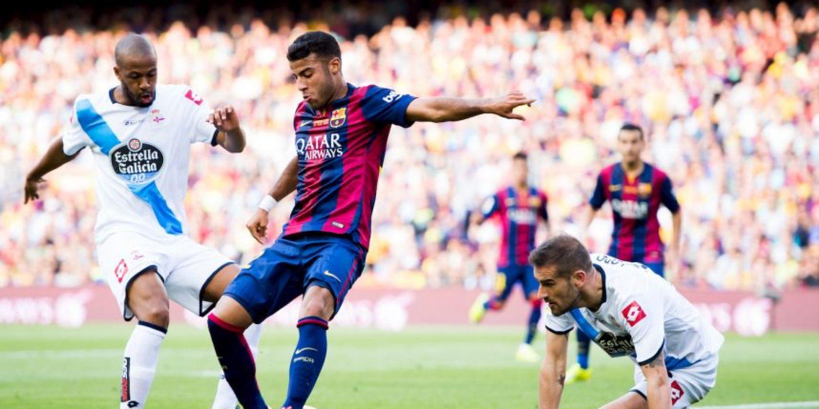 Pero el Deportivo reaccionó y consiguió el empate con goles de Lucas Pérez al 67′ y Diogo Salomao al 76′. Foto:Getty Images