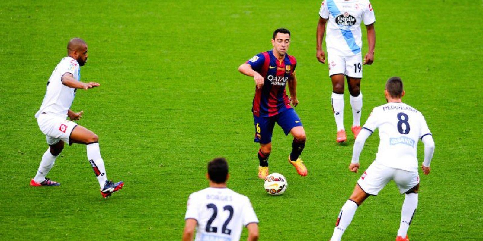 Barcelona, ya sabiéndose campeón de España, recibió al Deportivo La Coruña en la última jornada de La Liga. Foto:Getty Images