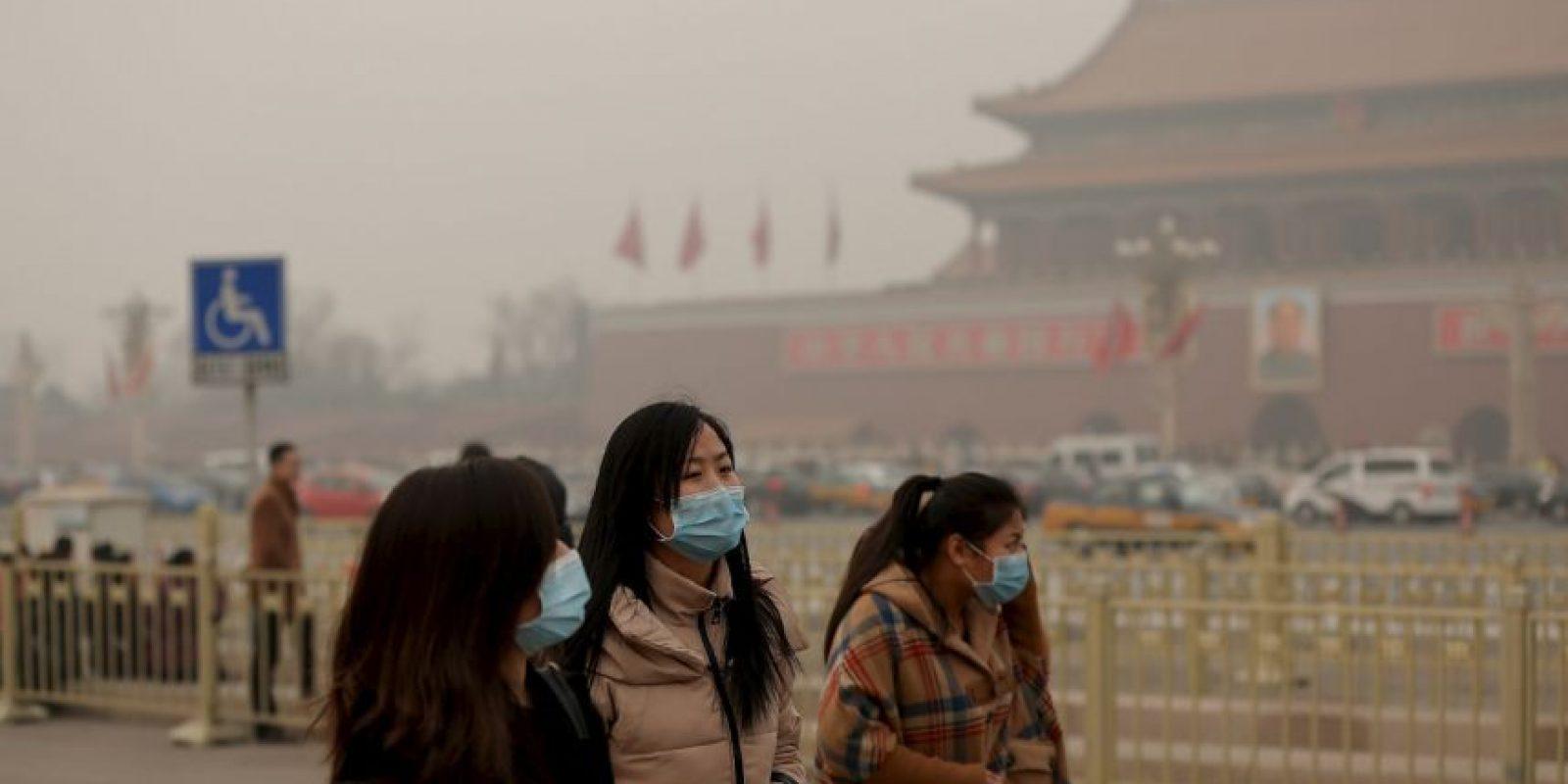 Las microparticulas analizadas por los científicos son conocidas como PM 2.5. Foto:Getty Images
