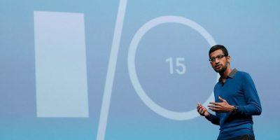 A partir del 10 de agosto de 2015, Pichai se convierte en el nuevo CEO de Google. Foto:Getty Images