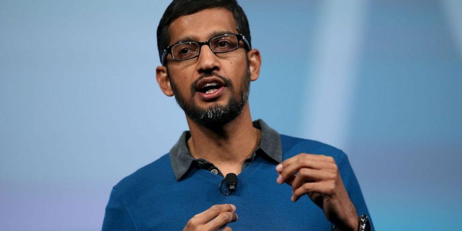 """Poco después de su ingreso, Pichai sugirió lo siguiente a sus jefes: """"Google debería tener su propio navegador"""". Foto:Getty Images"""