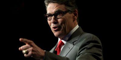 """""""Me postularé para presidente de los Estaods Unidos"""", comentó el exgobernador de Texas. Foto:Getty Images"""