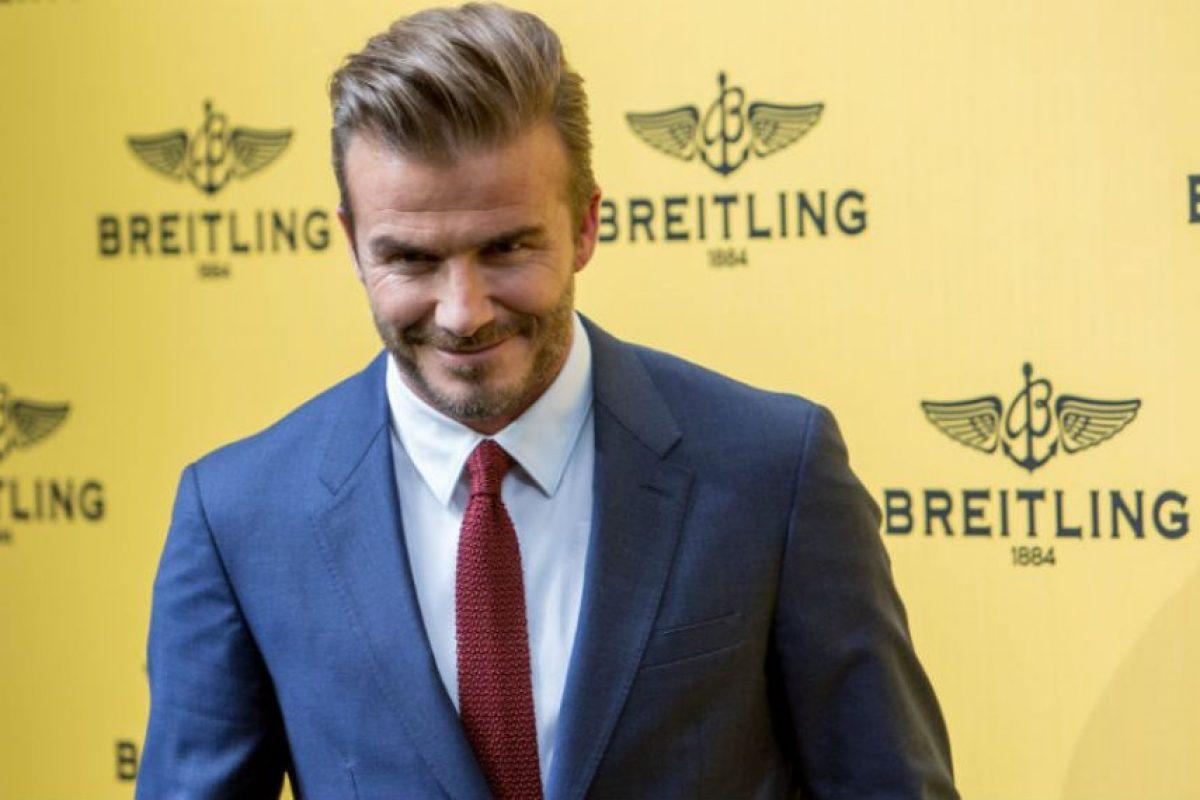 """David Beckham: """"Quiero que mi hijo sea cristianizado, pero no sé a que religión"""". Foto:Getty Images"""