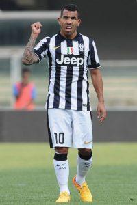 Tévez, de 31 años, juega actualmente para la Juventus de Turín. Foto:Getty Images