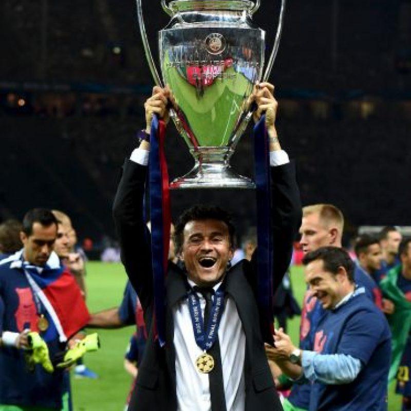 13. Si Barcelona vence a Sevilla, Luis Enrique se convertiría en la cuarta persona en levantar la Supercopa de la UEFA como jugador y entrenador, después de Pep Guardiola, Carlo Ancelotti y Diego Simeone. Foto:Getty Images